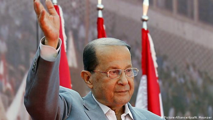 Libanon neuer Präisdent Michel Aoun (Picture-Alliance/dpa/N. Mounzer)