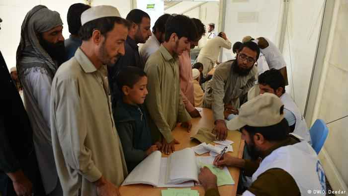 Afghanistan Aufnahmezentrum in Torcham