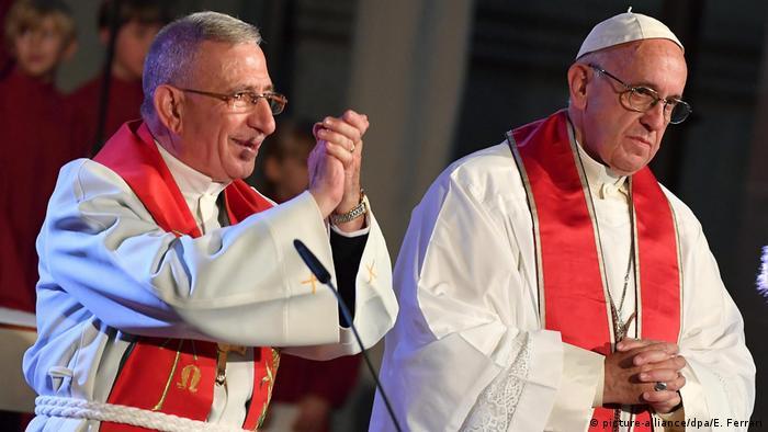 Papa participa de celebração da Reforma Protestante