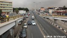 19.08.2016 Vierspurige Schnellstraße in der angolanischen Hauptstadt Luanda.