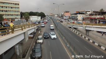 Angola Luanda Straßenszene