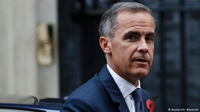 Großbritannien London - Mark Carney von der Bank of England verlässt Number 10 Downing Street (Reuters/S. Wermuth)