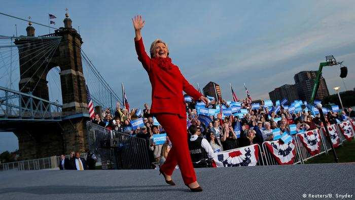 USA Hillary Clinton in Ohio (Reuters/B. Snyder)