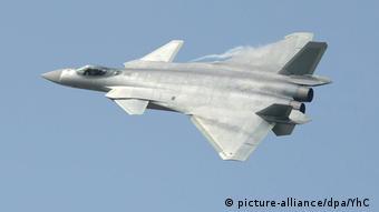 China Kampfflugzeug J-20