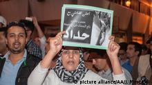 Marokko Protest in Rabat