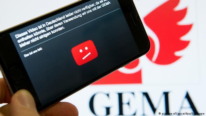 YouTube gegen GEMA (picture-alliance/dpa/S. Hoppe)