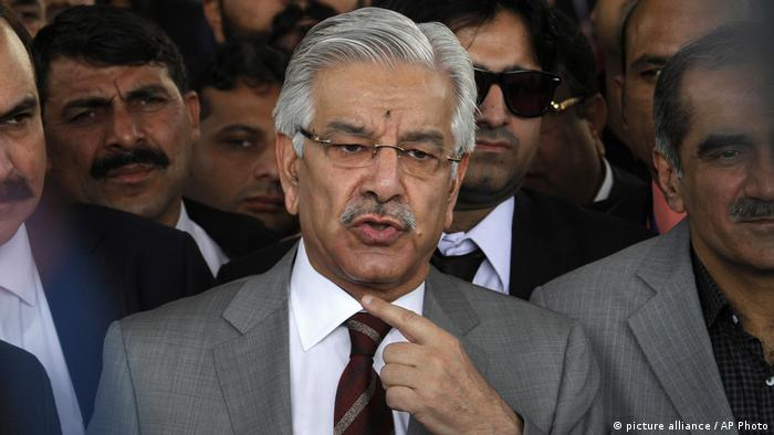 Khawaja Muhammad Asif (picture alliance / AP Photo)