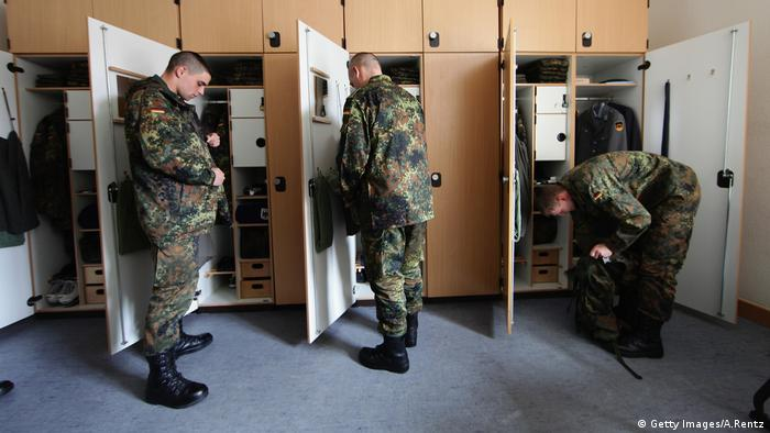 Bundeswehr Soldaten Rekruten (Getty Images/A.Rentz)