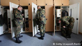 Bundeswehr recruits get prepared for exercises