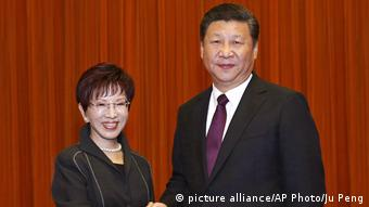 China Taiwan Gespräche (picture alliance/AP Photo/Ju Peng)