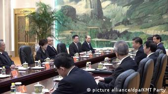 China Taiwan Gespräche (picture alliance/dpa/KMT Party)