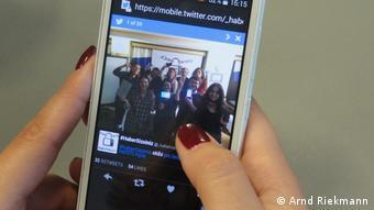 Twitter-Auftritt von #HaberSIZsiniz