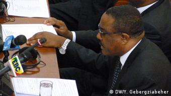 Äthiopien Neubildung Kabinett