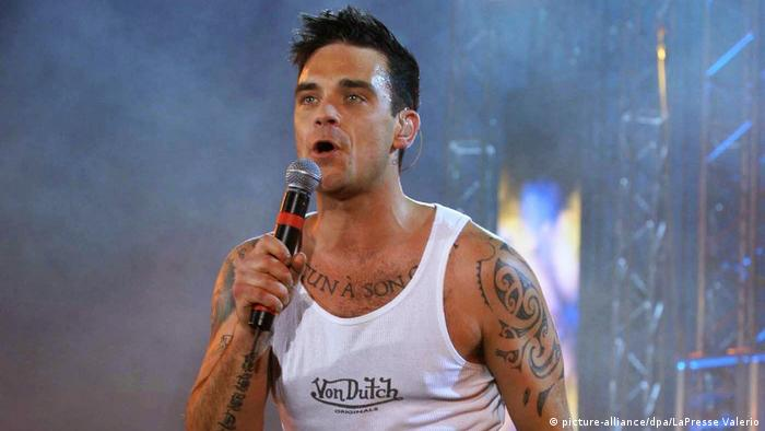 Robbie Williams in 2003 (picture-alliance/dpa/LaPresse Valerio)