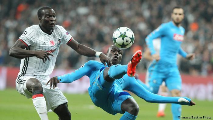 Sport Fussball Championsleague Besiktas Istanbul gegen Neapel