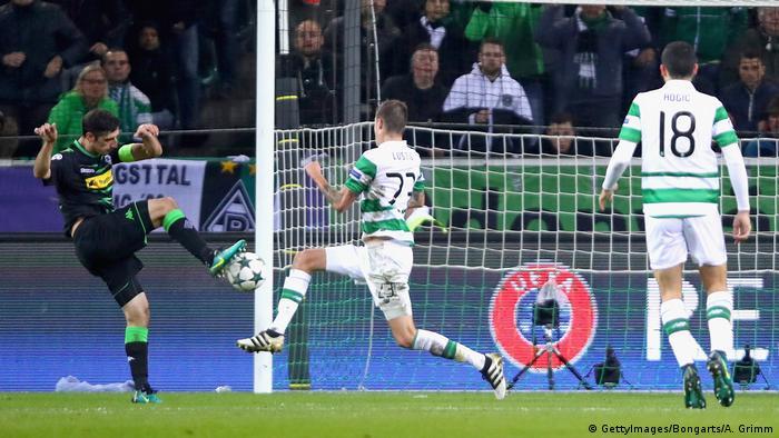 Championsleague Borussia Mönchengladbach gegen Celtic Glasgow