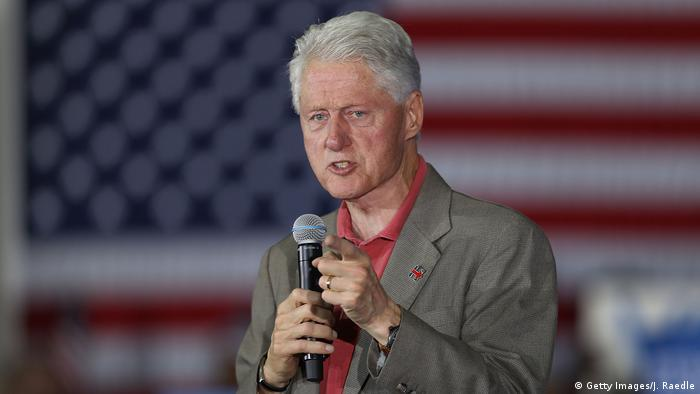 USA Wahlkampf Demokraten Hillary Clinton - Rede Bill Clinton (Getty Images/J. Raedle)