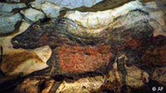Kalenderblatt Höhlenmalerei in Lascaux