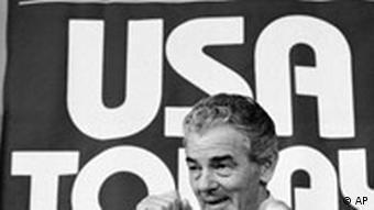 Kalenderblatt Allen H. Neuharth verkündet Beginn Zeitung USA Today