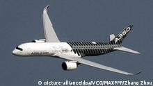 China Zhuhai Flugschau Airbus A350