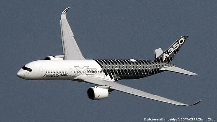 В полете Airbus А350