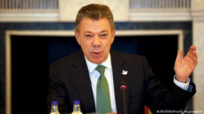 UK - Kolumbien | Staatsbescuh des kolumbianioschen Präsidenten Juan Manuel Santos in London (REUTERS/Pool/K. Wigglesworth)