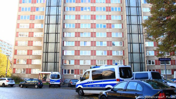 Полицейска акция срещу чеченци в Дрезден