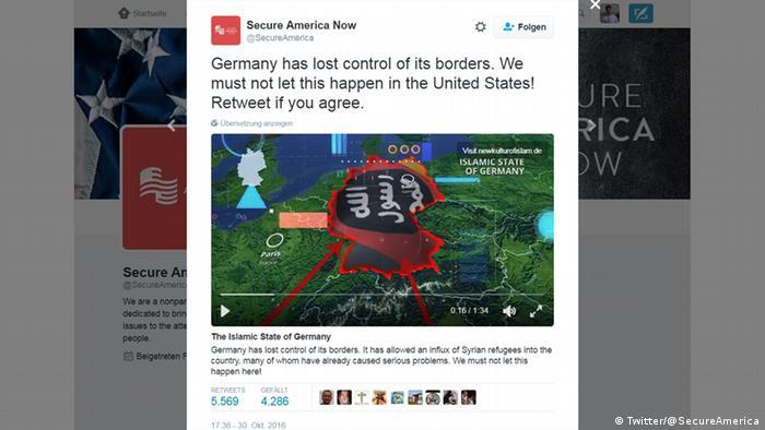 Screenshot The Islamic State of Germany (Twitter/@SecureAmerica)