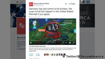 Screenshot The Islamic State of Germany
