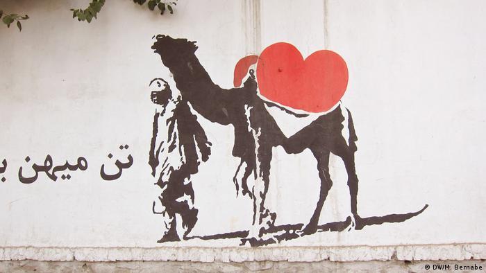 Afghan Banksy (DW/M. Bernabe)