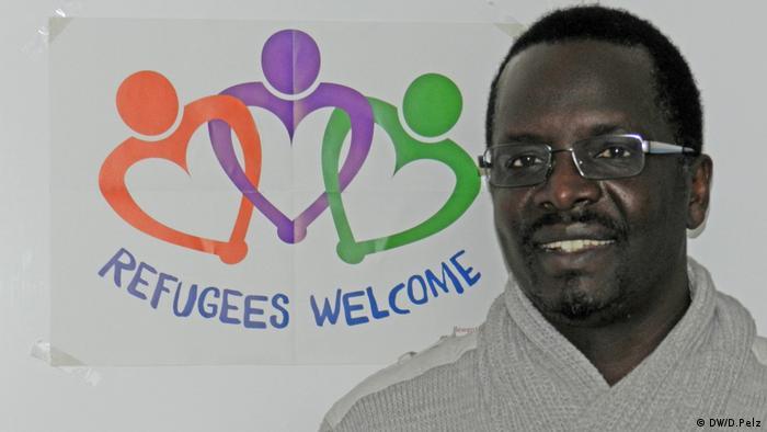 Thomas Mboya Ochieng Flüchtlingskoordinator Eberswalde