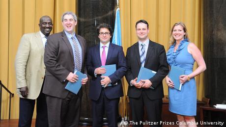 Bildergalerie Pulitzer Preis 2007 - 2016 Matt Apuzzo, Adam Goldman, Chris Hawley und Eileen Sullivan 2012 (The Pulitzer Prizes Columbia University)