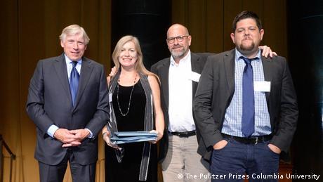 Bildergalerie Pulitzer Preis 2007 - 2016 Leonora LaPeter Anton, Anthony Cormier und Michael Braga 2016 (The Pulitzer Prizes Columbia University)