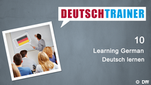 DEUTSCHKURSE | Deutschtrainer | Folge 10 | Folgenbild Englisch NEU