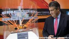 China Sigmar Gabriel in Chengdu