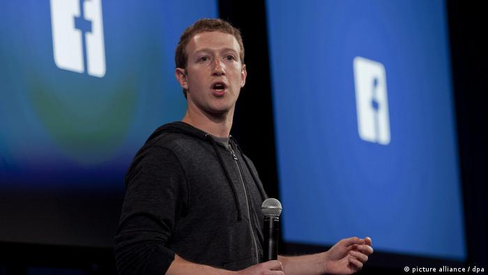 Facebook Quartalszahlen Mark Zuckerberg (picture alliance / dpa)