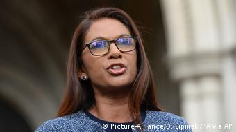 Die Investmentmanagerin Gina Miller (Foto: Picture-Alliance/D. Lipinski/PA via AP)