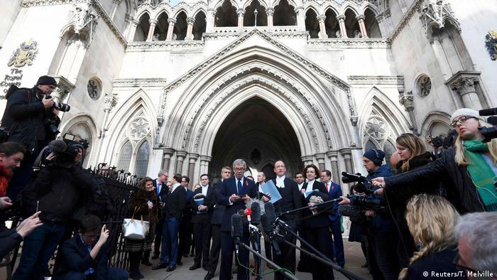 Großbritannien Brexit Gericht Entscheidung (Reuters/T. Melville)
