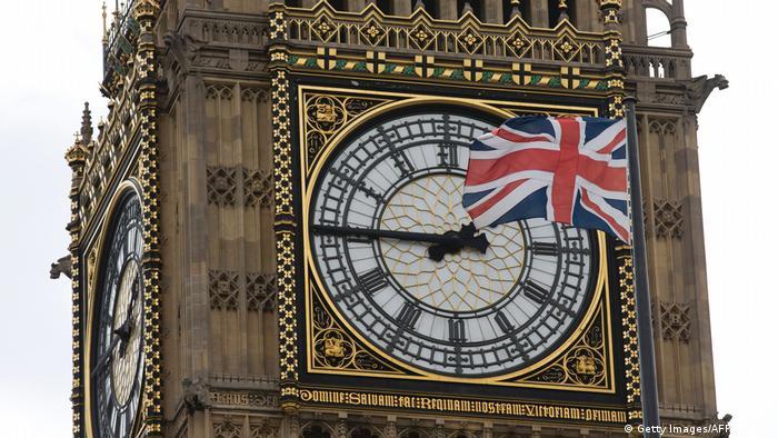 Großbritannien Great Clock Big Ben (Getty Images/AFP/J. Tallis)