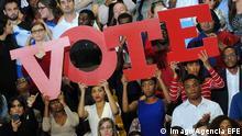 USA Poster / Transparente zu Präsidentschaftswahlen