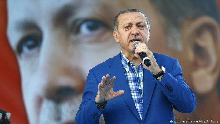 Türkei Recep Tayyip Erdogan (picture alliance /dpa/S. Suna)