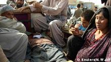 Afghanistan Kundus Trauer für Opfer von Kämpfen