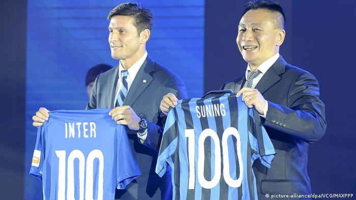 Fußball Suning Commerce übernimmt Inter Mailand (picture-alliance/dpa/VCG/MAXPPP)
