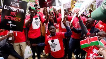 Afrika Kenia Anti-Korruptionsproteste in Nairobi