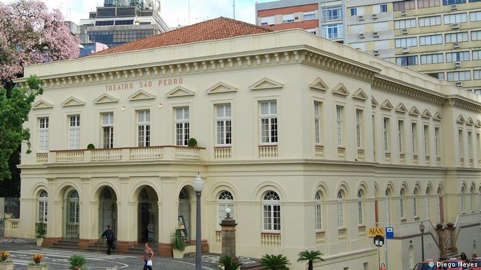 Theaterbauten in Brasilien Teatro Sao Pedro (Diego Neves)
