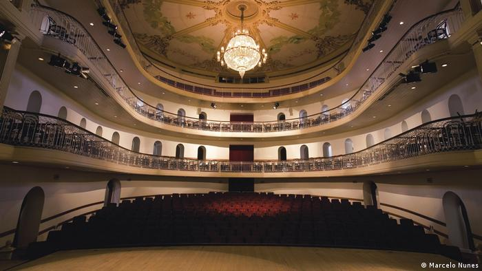 Theaterbauten in Brasilien Teatro Sao Pedro (Marcelo Nunes)