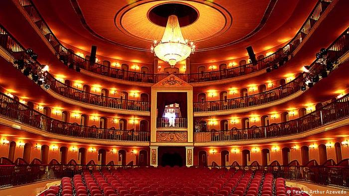 Theaterbauten in Brasilien Theater Arthur Azevedo (Teatro Arthur Azevedo)
