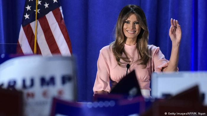 USA Melania Trump (Getty Images/AFP/M. Ngan)