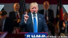 USA Donald Trump Wahlkampf North Carolina
