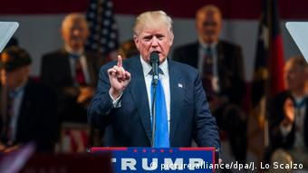 USA Donald Trump Wahlkampf North Carolina